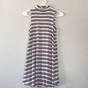 Tillys Muscle-Tee Dress w/ Turtle Neck & Open Back